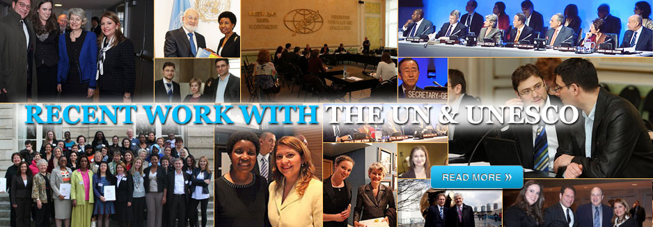Meetings with The UN and UNESCO